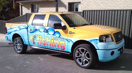 Fishing Monthly Truck
